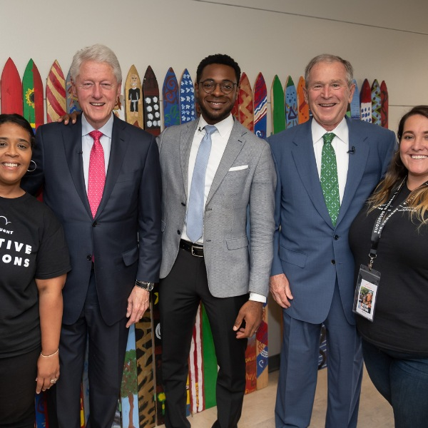 Episode #8: Finding Common Ground: A Conversation with President George W. Bush, President Bill Clinton and Presidential Leadership Scholars